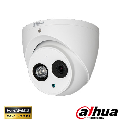Dahua HAC-HDW1200EMP-A-360B 2 Mp 1080P Waterproof Ir Dome Hd-Cvi Kamera
