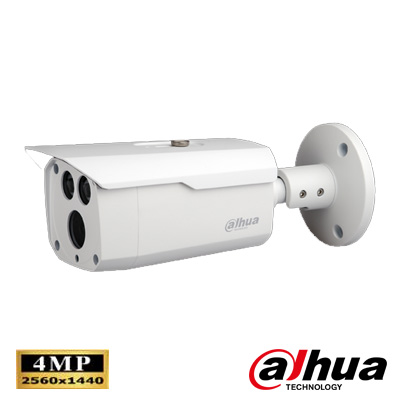 Dahua HAC-HFW2401DP 4.1 Mp Wdr Waterproof Ir Bullet Hd-Cvi Kamera