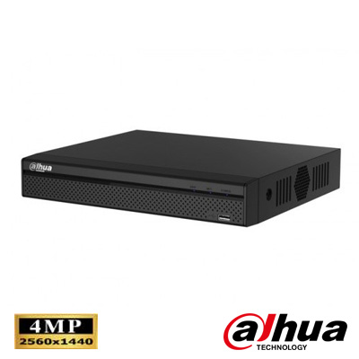 Dahua HCVR7104H-4M 4 Kanal 4 Mp Tribrid DVR