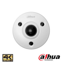 Dahua IPC-EBW81200-IVS 12 Mp Ultra Hd Ir Vandalproof Fisheye Kamera
