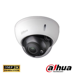 Dahua IPC-HDBW2320RP-ZS-IVS 3 Mp Full Hd Waterproof Ir Dome Ip Kamera