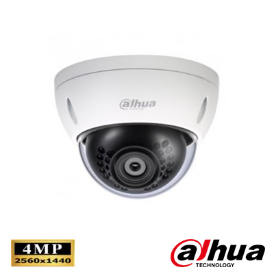 Dahua IPC-HDBW4421EP-AS 0360B 4 Mp Full Hd Wdr Vandalproof Ir Dome Ip Kamera