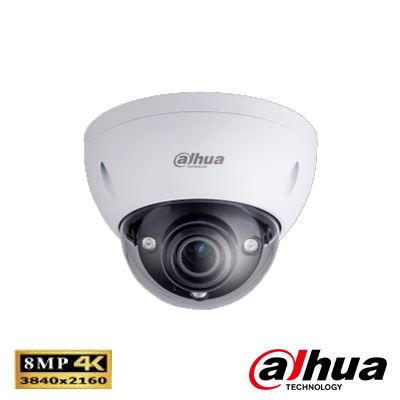 Dahua IPC-HDBW5830EP-Z 8 Mp Ultra Hd Waterproof Ir Dome Ip Kamera