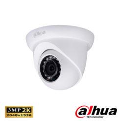 Dahua IPC-HDW1320SP-0360B 3 Mp Full Hd Waterproof Ir Dome Ip Kamera