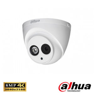 Dahua IPC-HDW4830EMP-AS0400B 8 Mp Ultra Hd Waterproof Ir Dome Ip Kamera