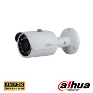 Dahua IPC-HFW1320SP-0360B 3 Mp Full Hd Waterproof Ir Bullet Ip Kamera