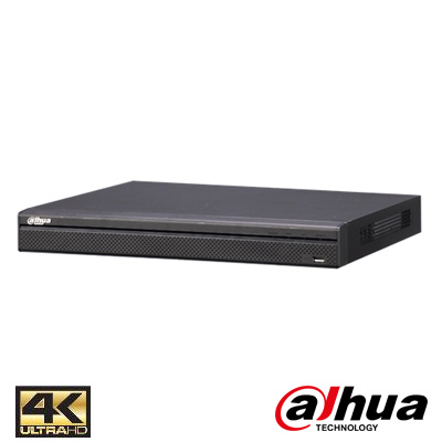 Dahua NVR5416-16P-4KS2 16 Kanal 16 PoE 1,5U 4K H.265 Pro NVR