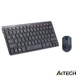 A4 Tech 6200N Q Kablosuz MM vTrack Mouse Set Siyah
