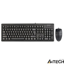 A4 Tech KM-72620D Klavye Mouse Set Siyah USB