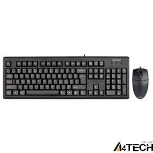 A4 Tech KM-72620D Klavye Mouse Set Siyah USB