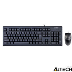 A4 Tech KR-8372 Q Klayve Set USB Siyah