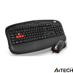 A4-Tech KX-2810BK Gamer Q MM Klavye Mouse Set