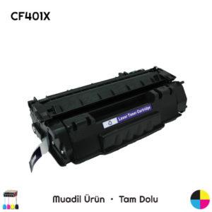 HP CF401X Muadil Toner