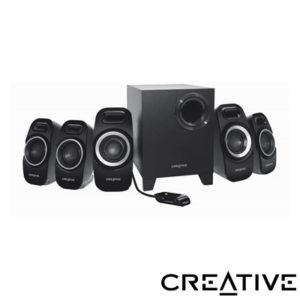 Creative T6300 5+1 50W Speaker / Siyah Hoparlör