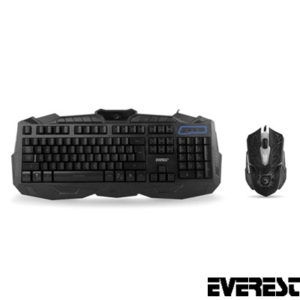 Everest KM-810 Usb Oyuncu Q Klavye + Mouse Set