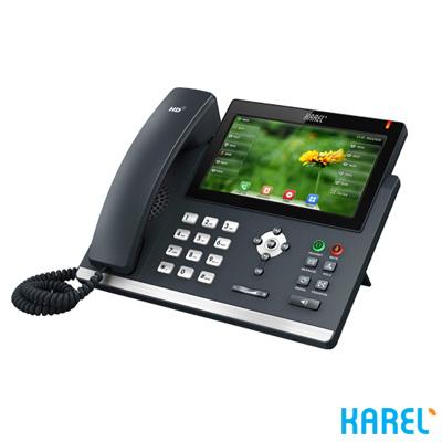Karel IP138 PoE Ip Kablolu Telefon