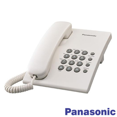 Panasonic KX-TS500 Kablolu Masa Telefonu Beyaz