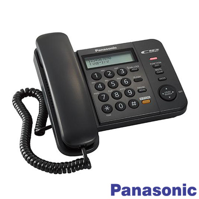 Panasonic Kx TS580 Kablolu Masa Telefonu Siyah