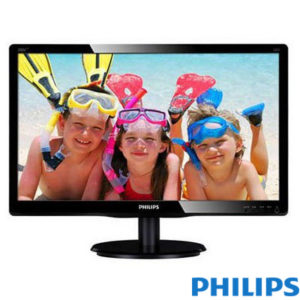"Philips 19.5"" 200V4LAB2 LED MM Monitor 5ms Siyah"