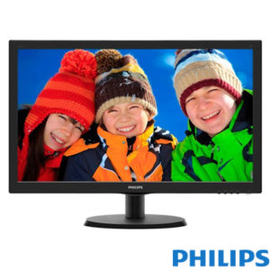 "Philips 21.5"" 223V5LHSB2-01 LED Monitör 5ms Siyah"
