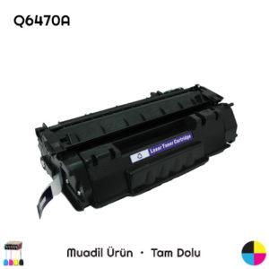 HP Q6470A Siyah Muadil Toner