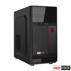 Redrock M208BR mATX Case Peak 250W /Siyah/Kırmızı