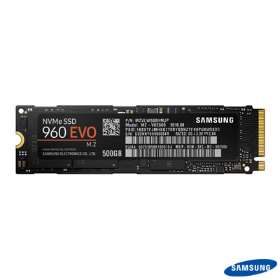 Samsung 960 EVO 250 GB SSD m.2 NVMe MZ-V6E250BW