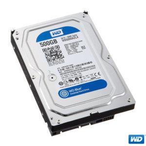 """WD 500GB 3,5"""" Blue 7200RPM 32MB SATA 3 WD5000AZLX"""
