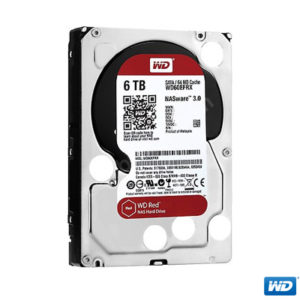 "WD 6TB Red 3,5"" 64MB IntelliPower SATA 3 WD60EFRX"