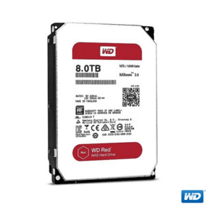 "WD 8TB Red 3,5"" 128MB IntelliPower SATA 3 WD80EFZX"