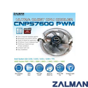 Zalman CNPS7600 92mm Fan CPU Soğutucu