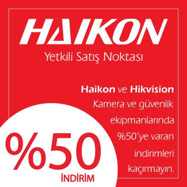 Haikon Hikvison Kampanya