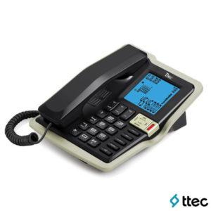 Ttec Tk6085 Masa Üstü Telefon Siyah-Şampanya