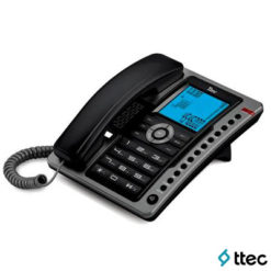 Ttec Tk6101 Masa Üstü Telefon Siyah-Antik Gümüş
