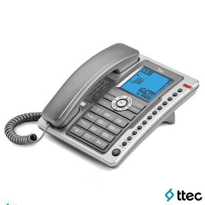 Ttec Tk6101 Masa Üstü Telefon Titanyum-Gümüş