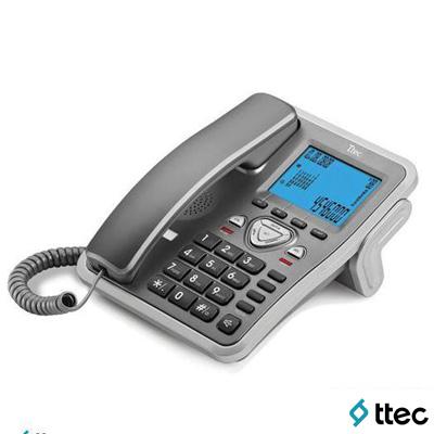Ttec Tk6105 Masa Üstü Telefon Titanyum-Gümüş