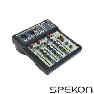 Spekon Ec-21U Stüdyo Mikser