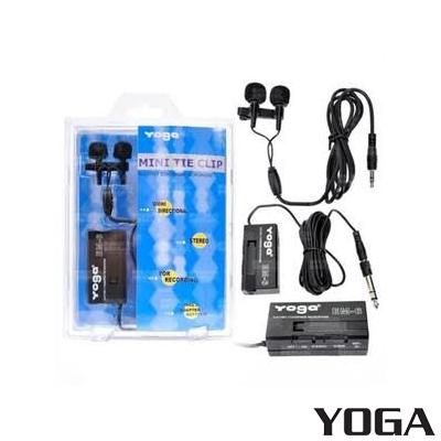 Yoga Em-06 İkili Yaka Mikrofonu