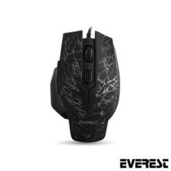 Everest SM-700 USB 3200DPI Oyuncu Mouse Siyah