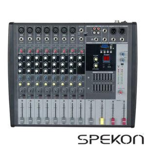 Spekon Fx-111u Mikser 11 Mono + 2 Stereo