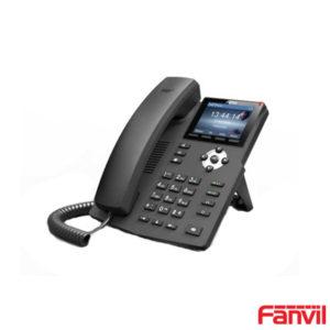 Fanvil X3G Renkli Ekran Gigabit IP Telefon Poe