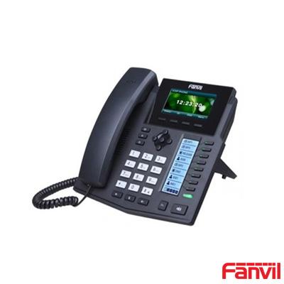 Fanvil X5S Renkli Ekran IP Telefon Poe