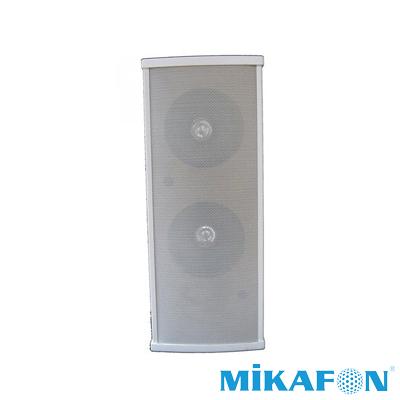Mikafon H235T Trafolu İkili Sütun Hoparlör