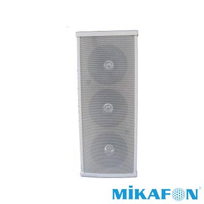 Mikafon H236T Trafolu Üçlü Sütun Hoparlör