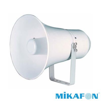 Mikafon Hk12 Horn Tipi Boş Hoparlör Kasa