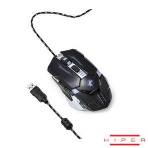 Hiper X-50 6 Tuşlu Gaming USB Kablolu Siyah Mouse