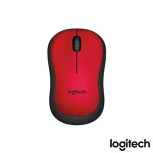 Logitech M220 Kablosuz Silent M.Kırmızı 910-004880