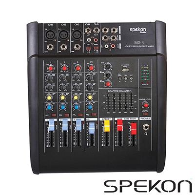 Spekon Mx-4b Anfi Mikser 2x100 Watt