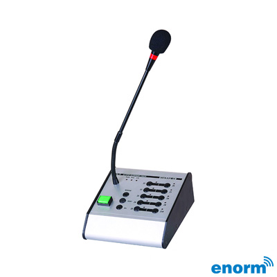Enorm Pm10 10 Bölgeli İşlemcili Anons Mikrofon Modülü