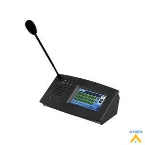 Ateis PSS GII Full Renkli Dokunmatik Ekranlı Anons Mikrofonu